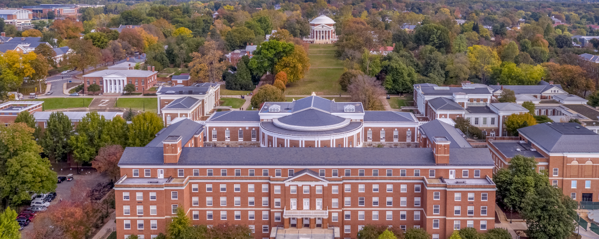 UVA Rotunda from air